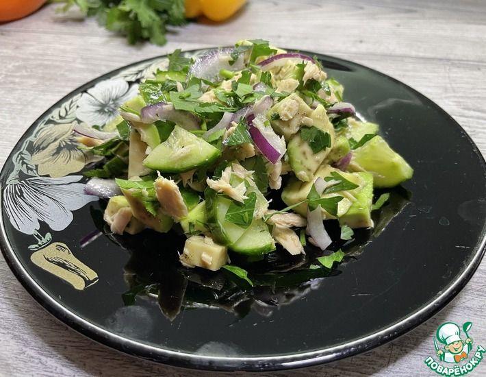 Рецепт: Салат с тунцом Непрошеный гость
