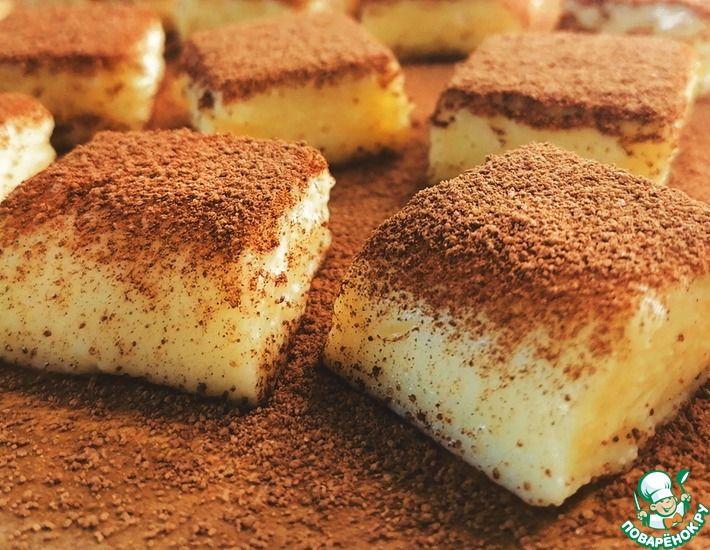 Рецепт: Десерт из заварного крема