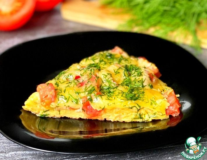 Рецепт: Завтрак из тонкого лаваша