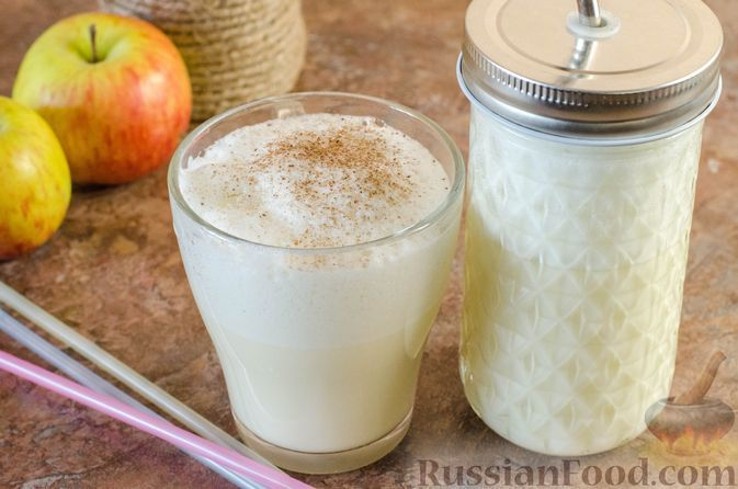 Фото к рецепту: Яблочный гоголь-моголь
