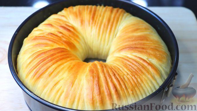 """Фото к рецепту: """"Шерстяной"""" сладкий хлеб"""