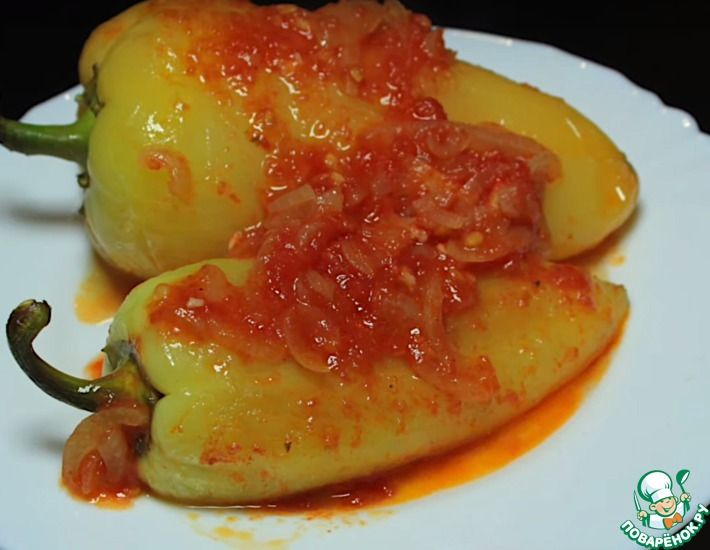 Рецепт: Перец болгарский Самый любимый
