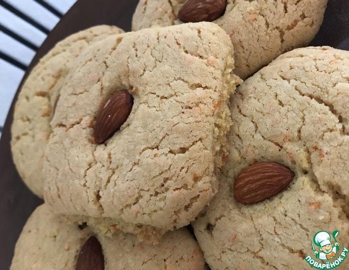Рецепт: Печенье кокос + миндаль 🥥🌰
