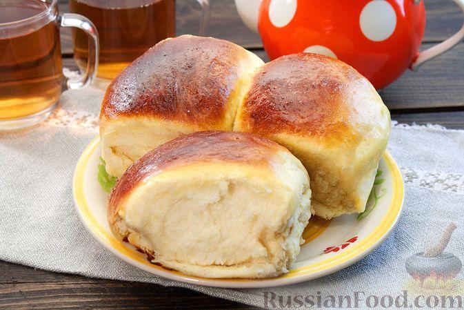 Фото к рецепту: Сладкие булочки на кефире