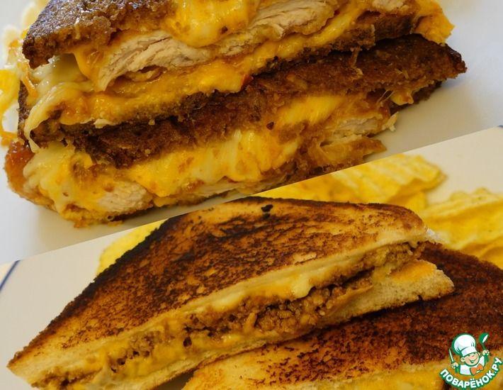 Рецепт: Домашний Сэндвич