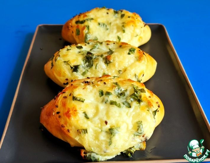 Рецепт: Лодочки с сыром