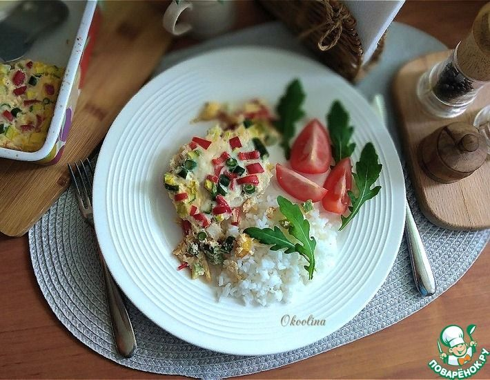 Рецепт: Рыбный омлет