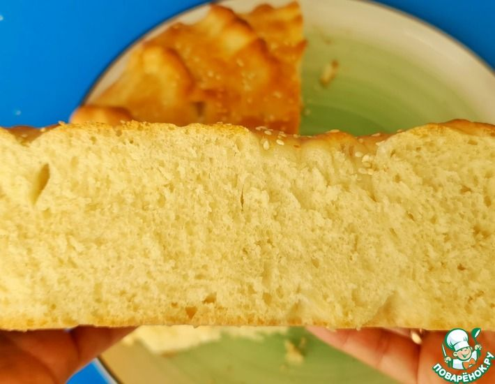 Рецепт: Пышный хлеб