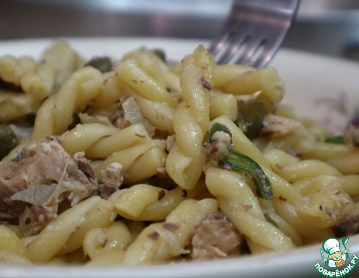 Рецепт: Паста с сардинами