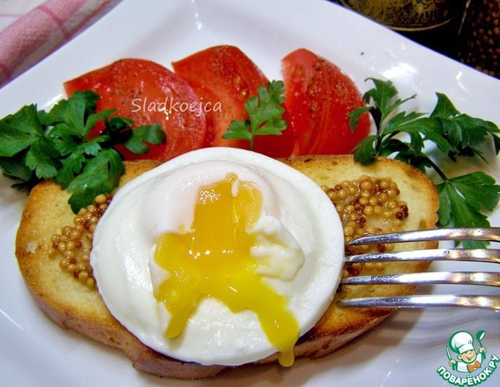 Рецепт: Яйцо-пашот без хлопот