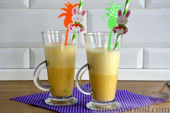 Фото к рецепту: Медовый гоголь-моголь без сахара