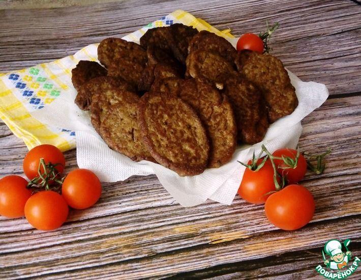 Рецепт: Печеночно-Картофельные Котлеты