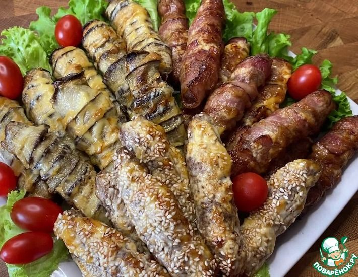 Рецепт: Домашние колбаски Чевапчичи