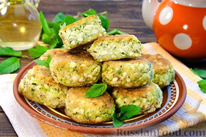 Фото к рецепту: Мятные сырники