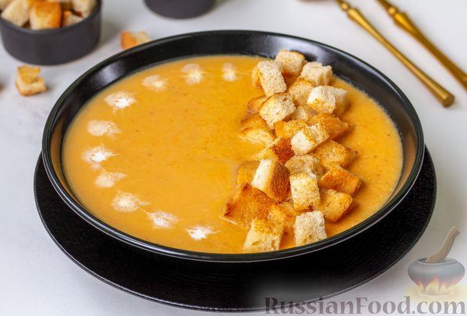 Фото к рецепту: Крем-суп из чечевицы