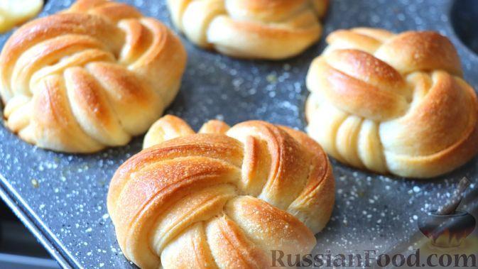 Фото к рецепту: Масляные булочки по-датски