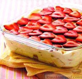 Фото к рецепту: Пудинговый десерт