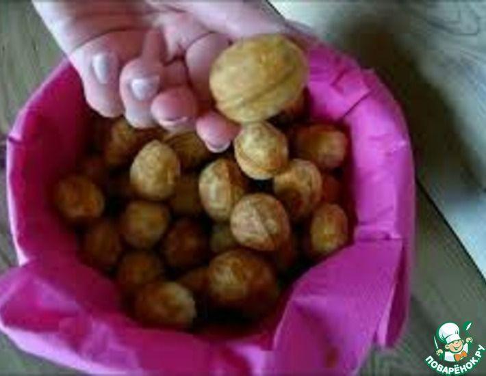 Рецепт: Печенье Орешки