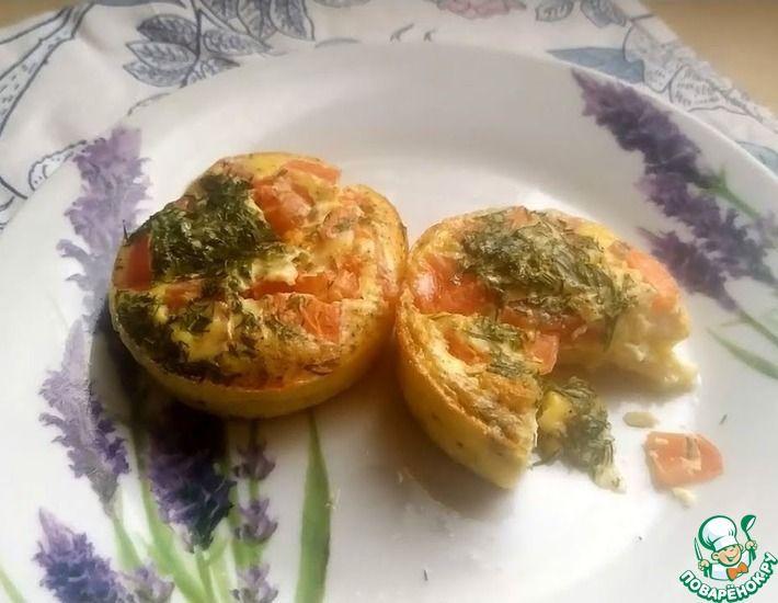 Рецепт: Вкусный, легкий и красивый завтрак