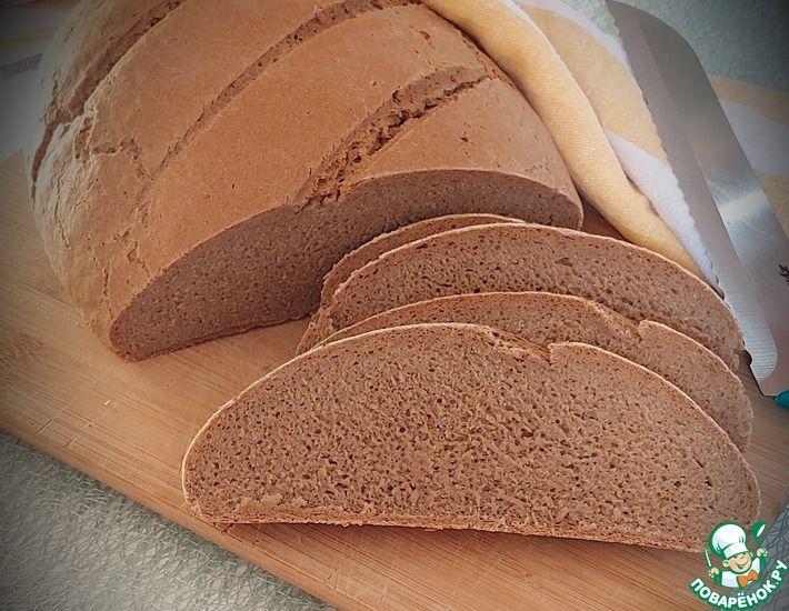 Рецепт: Ржаной хлеб