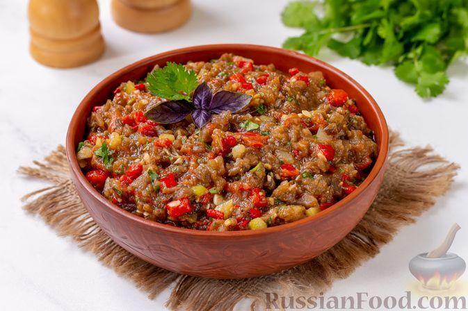 Фото к рецепту: Аджапсандал (в духовке)