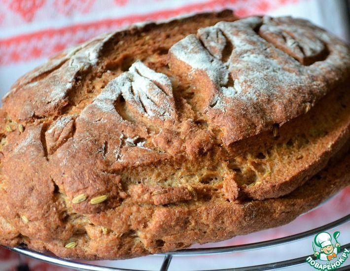 Рецепт: Ржаной хлеб с фенхелем