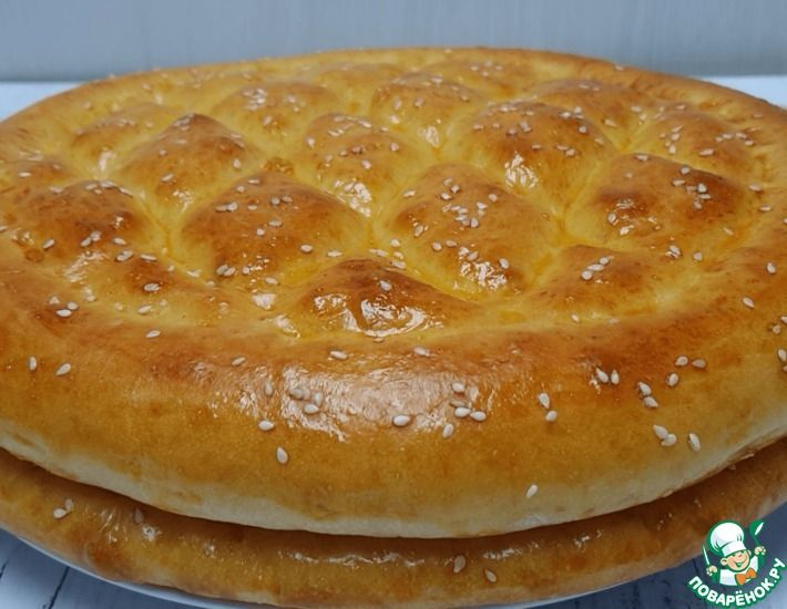 Рецепт: Турецкий хлеб «Рамазан пиде»