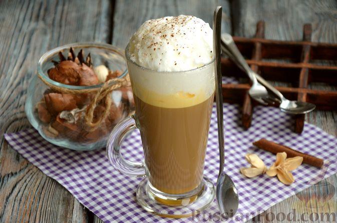 Фото к рецепту: Гоголь-моголь с кофе и молоком
