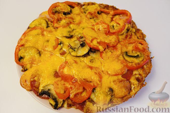 Фото к рецепту: Пицца на дранике