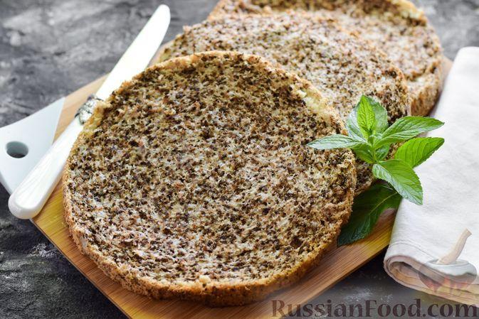 Фото к рецепту: Ореховый бисквит на яичных белках