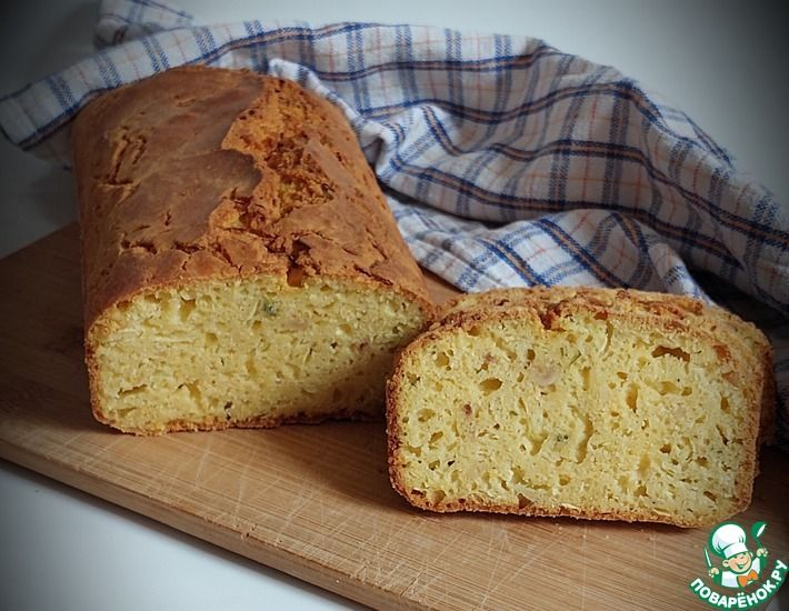 Рецепт: Быстрый кукурузный хлеб с цуккини