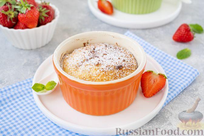 Фото к рецепту: Творожные пудинги в духовке