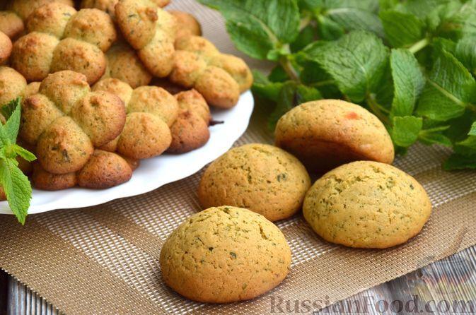 Фото к рецепту: Мятное печенье