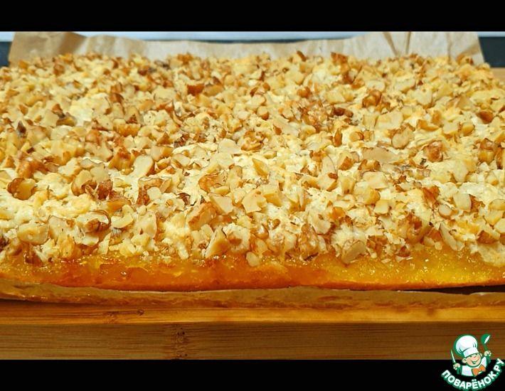 Рецепт: Пирог с яблочно-лимонной начинкой