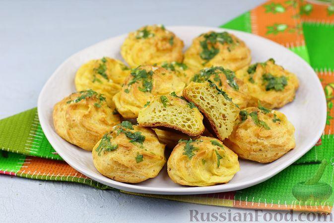 Фото к рецепту: Гужеры с чесноком и петрушкой