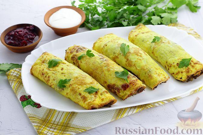 Фото к рецепту: Бризоли с куриной печенью и овощами (в духовке)