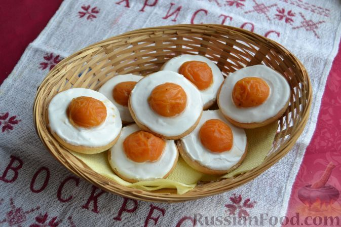 Фото к рецепту: Пасхальное печенье