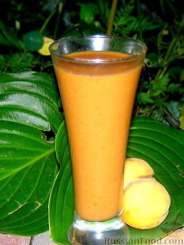 Фото к рецепту: Летний абрикосовый смузи