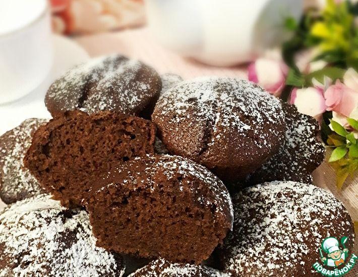 Рецепт: Шоколадно-банановые кексы