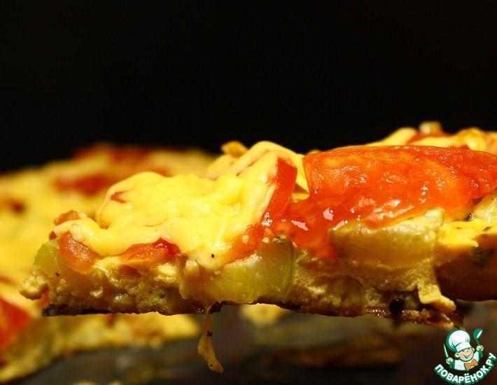 Рецепт: Пицца из кабачков на сковороде Ешь, хоть каждый день