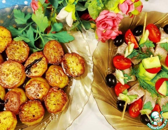 Рецепт: Пряный картофель Батата харра
