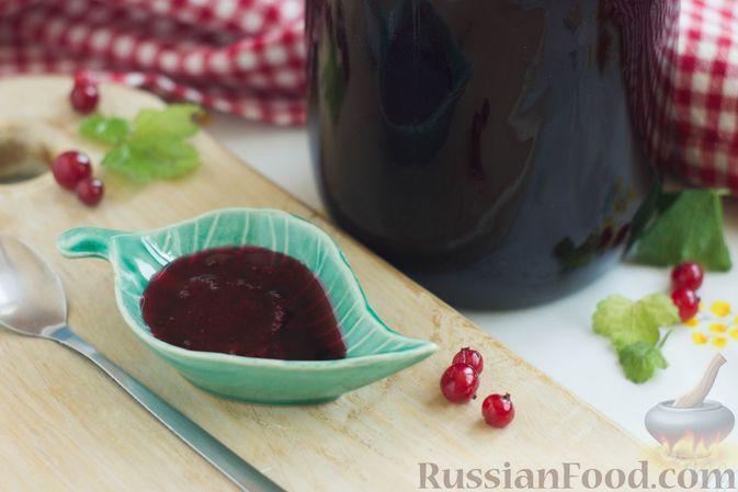 Фото к рецепту: Смородиновое желе на зиму (без загустителей)