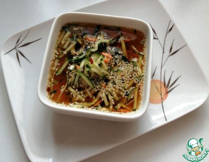 Рецепт: Окрошка по-корейски ненгуг