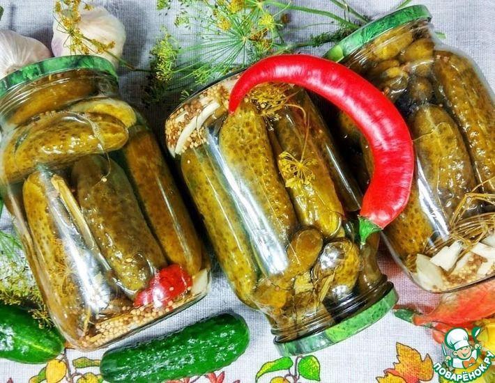 Рецепт: Маринад Купеческий№ для овощей без стерилизации
