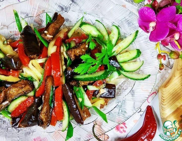 Рецепт: Салат по-корейски