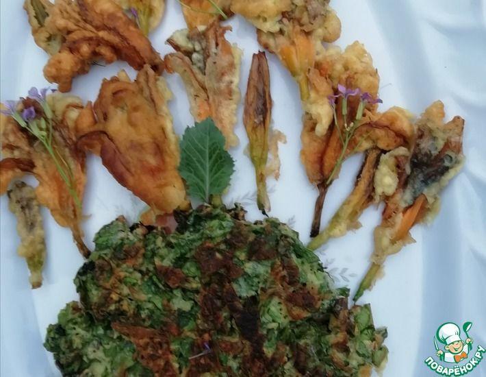 Рецепт: Цветы лилейника в кляре