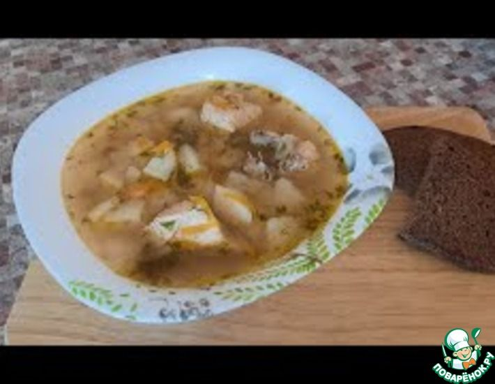 Рецепт: Картофельный суп с курицей-простой рецепт