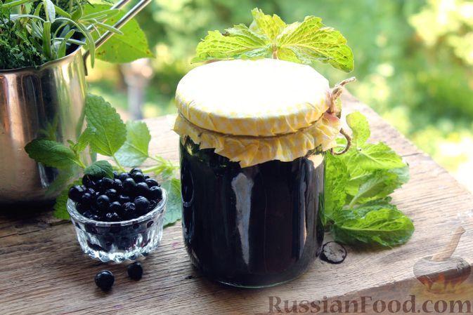 Фото к рецепту: Черника в собственном соку, без сахара
