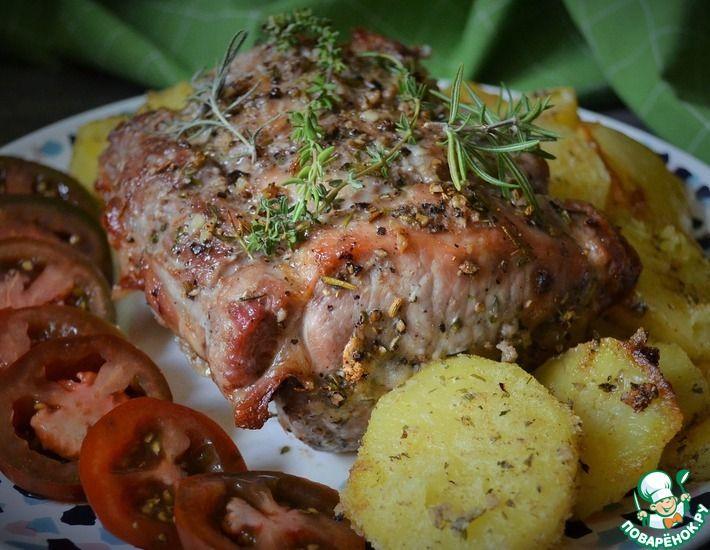 Рецепт: Свинина Ариста по-флорентийски