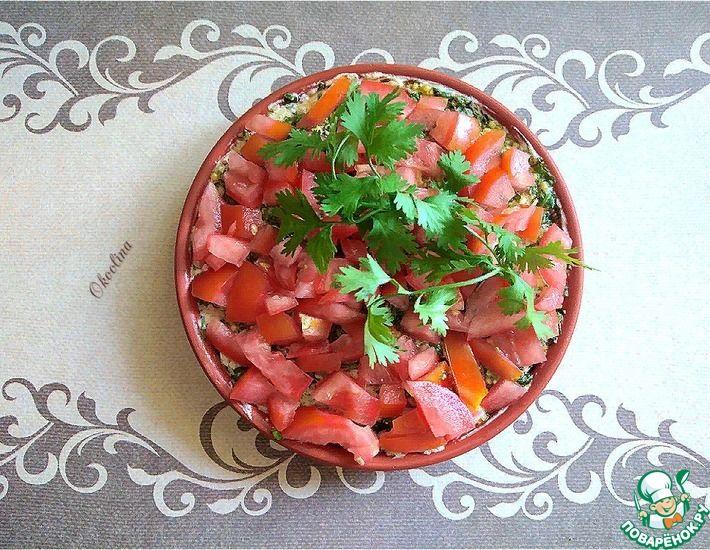 Рецепт: Итальянский салат с тунцом и помидором